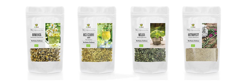 herbal tea packaging set