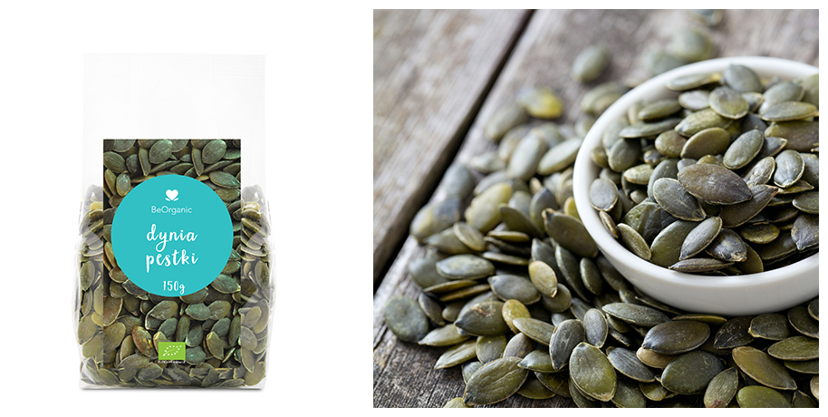 pumpkin seeds packaging